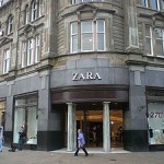 A typical Zara store.