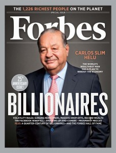 Forbes Billionaire List